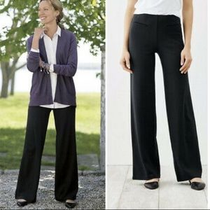 J. Jill Ponte Full Leg Knit Pants Stretch medium